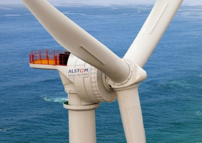 Offshore windturbine Haliade 150-6 MW